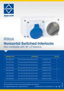 Horizontal Switched Interlocked Sockets